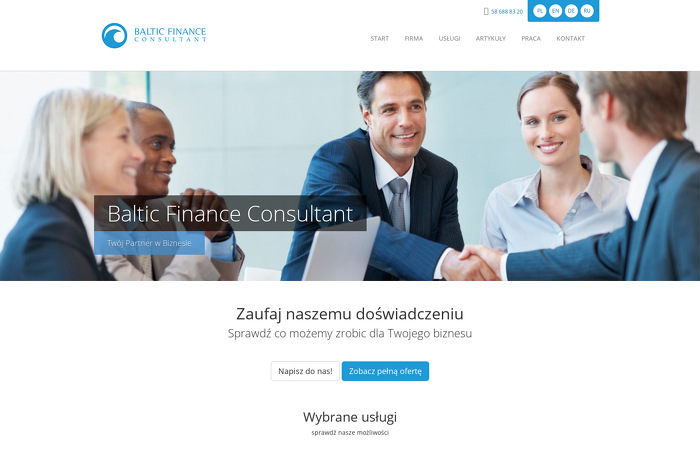 BALTIC FINANCE CONSULTING SP Z O O